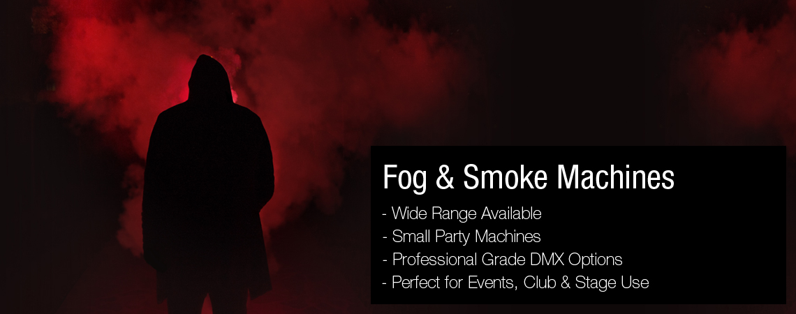 Fog and smoke machines