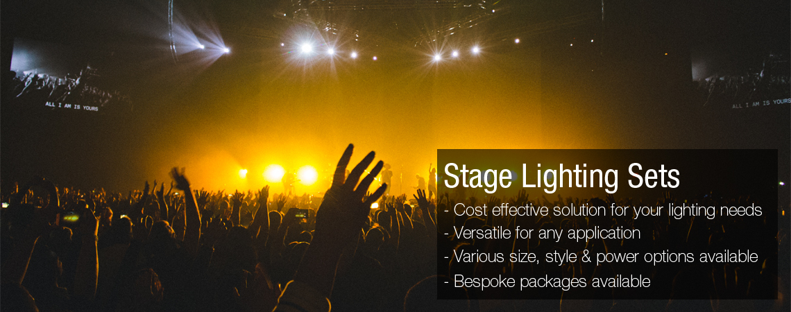 stage lighting sets