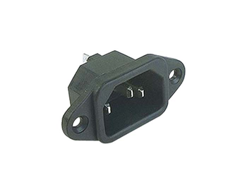 EUROPLUG MALE PANEL MOUNT