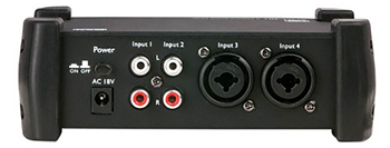 4 Channel Active Mixer