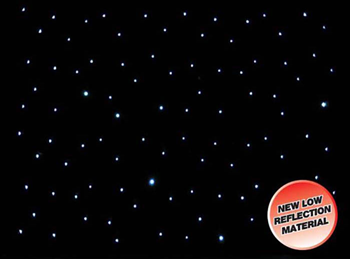 Star Cloth 3 x 6m with Cool White