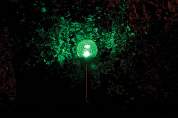 Solar RGBWW LED Spike Light