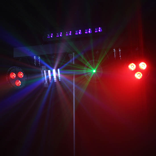 LED Effects Light Multi Bar System wit