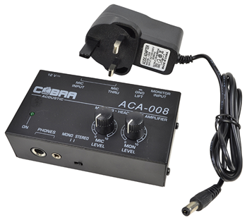 Microphone and Audio Headphone Mixer by%
