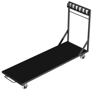 Global Stage Vertical Deck Trolley