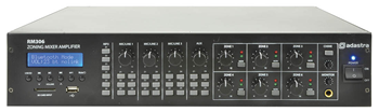 Zone Mixer Amplifier, 100V, 4/8Ohm w
