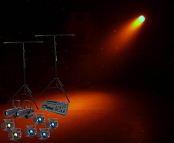 LED Professional Portable Stage Lighting%2