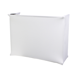 White Lycra Kit for 4ft Disco Stand