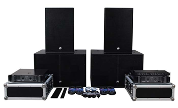 PAS-15B AND PAS-212 SPEAKER SYSTEM