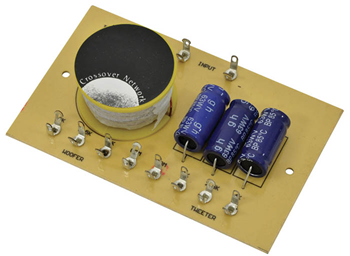 2 Way Crossover 2/2.5/4kHz 100W