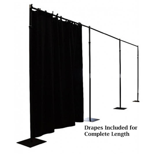9M Straight Drape Suspension System with