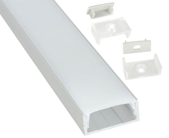 Aluminium LED Tape Profile - Wide Crow