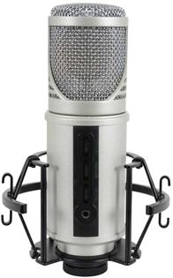 USB Studio Vocal Microphone with Interfa