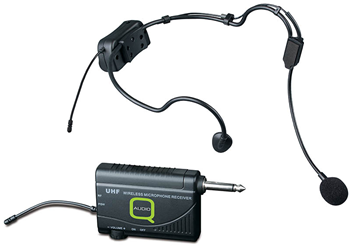 UHF Wireless Headset Radio Mic by Q-Au