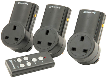SET OF 3 REMOTE CONTROL SOCKET ADAPTOR