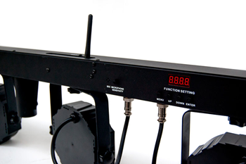 Par Bar with Wireless Foot Controller