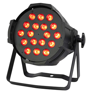 LED Parcan RGBW 18x 8 Watt - 20 or
