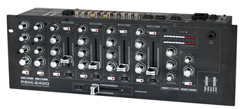 Hill Audio PSM2420 6 Channel Mixer