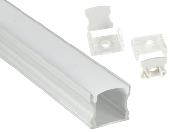 Aluminium LED Tape Profile - Tall Crow