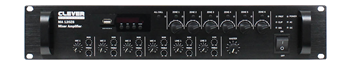 Mixer PA Amplifier – 6 Zone Pagin
