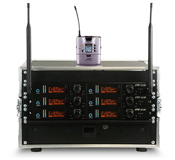 JTS UF-20R Rack n Ready Microphone Sys