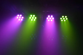 RGB LED Stage Set - 2 x HT3028 and