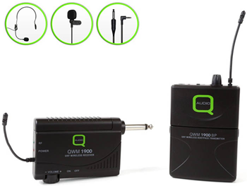 UHF Wireless Belt Pack Microphone System