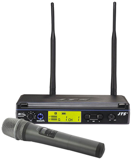 JTS Single Channel Handheld Wireless Mic