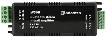In-Wall Stereo Amplifier with Bluetooth