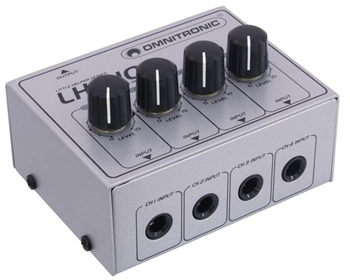 Omnitronic LH-010 Passive Four Channel M