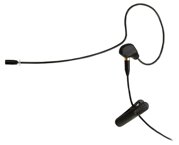 Single Ear Discreet Headset with 4 Pin