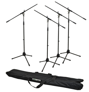 Cobra 4 Boom Mic Stand & Bag Set