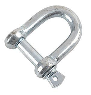 M10 Shackle Zinc Plated