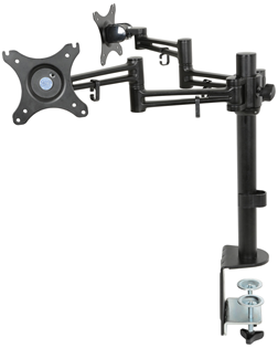 Dual Monitor Desktop Mount with Extensio