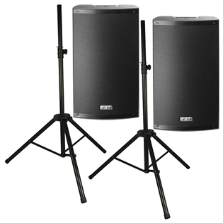Two FBT X-LITE 12A Active Speakers wit