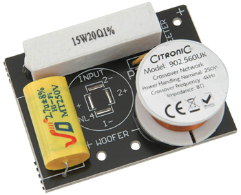 2-Way Crossover 4kHz 250W