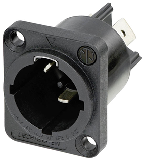 PowerCON TRUE1 Male Chassis Connector