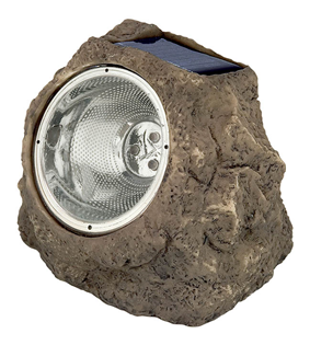 Solar LED Rock Spotlight - Pack of 8