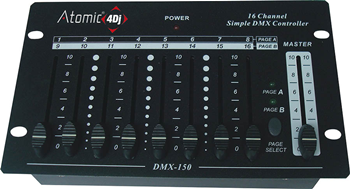 DMX Controller 16 Channels by Atomic
