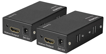 HDMI Extender Over Single Network Cable%