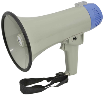 Megaphone 10 Watt with Siren 600m Proj
