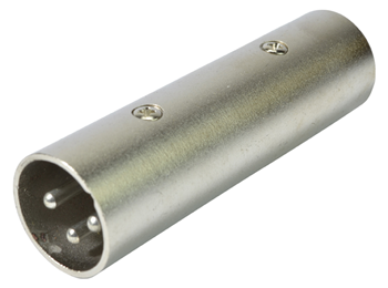 3 Pin XLR Male to XLR Male Joiner