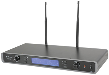 Dual UHF Beltpack Microphone System