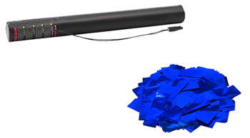 Electric Metallic Confetti Cannon