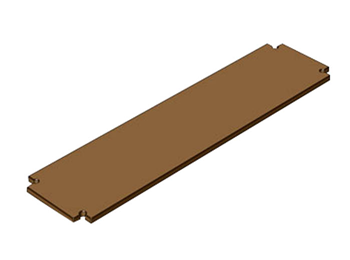 DOUGHTY STEP DECK PANEL 1000 X 250MM