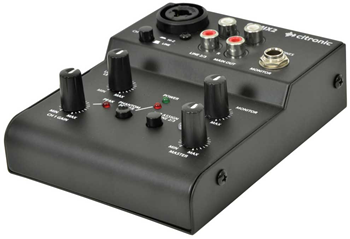 2 Channel Mixer for Podcasting