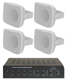 Outdoor Background PA System