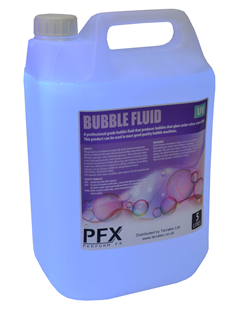 Bubble Liquid UV Active 5 Litres by