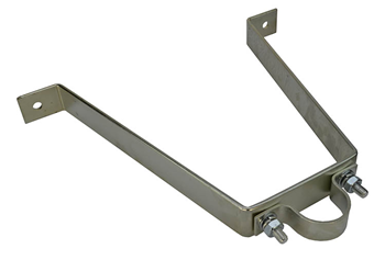 Pipe To Wall Bracket 300mm