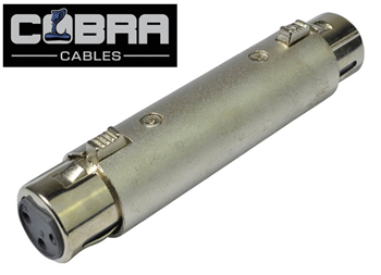 3 Pin XLR Female to XLR Female Joine
